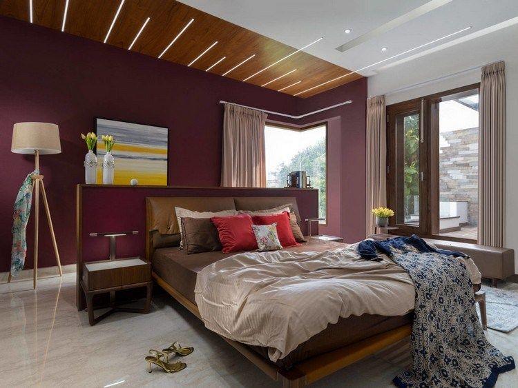 La chambre à coucher moderne en 80+ idées flambant neuves à