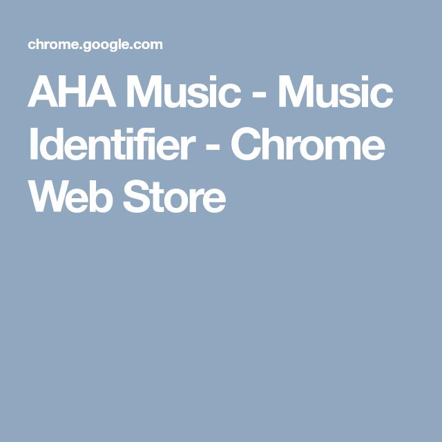 AHA Music - Music Identifier - Chrome Web Store | 8 | Aha