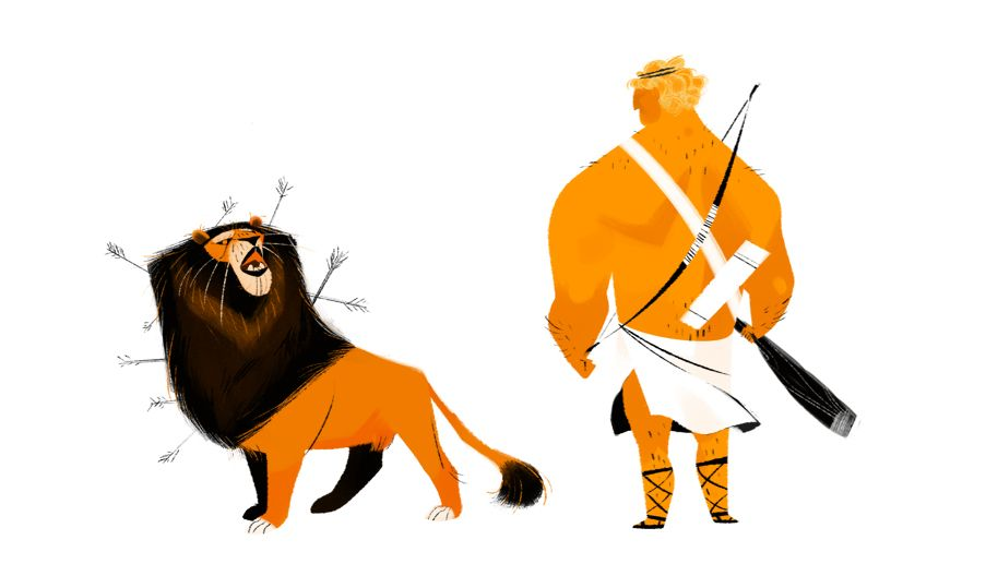 feline the refrain: the twelve labors of Hercules