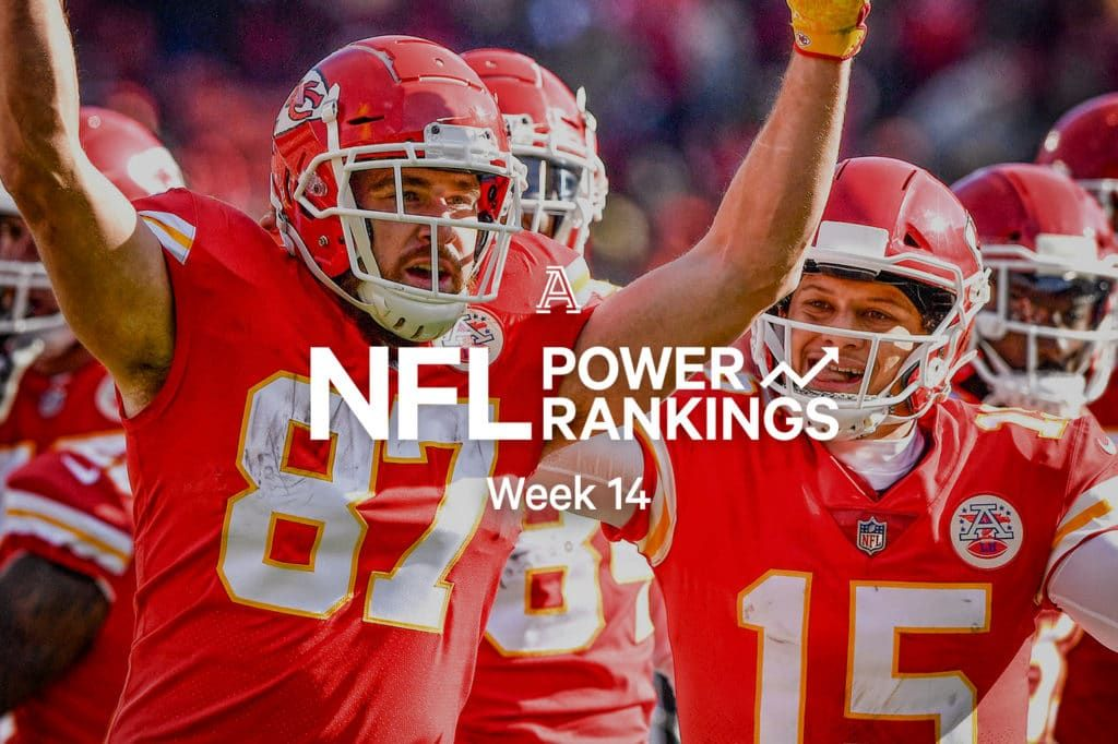 NFL Power Rankings Week 14 Finally the Chiefs stand alone
