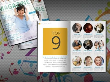 Free Indesign Templates Brochures Magazines Newsletters