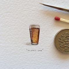 Artist's Daily Illustrations Are Each Tiny Enough To Be A Postcard For An Ant