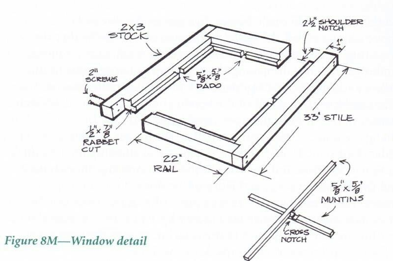 Timber Window Frame Construction In 2019