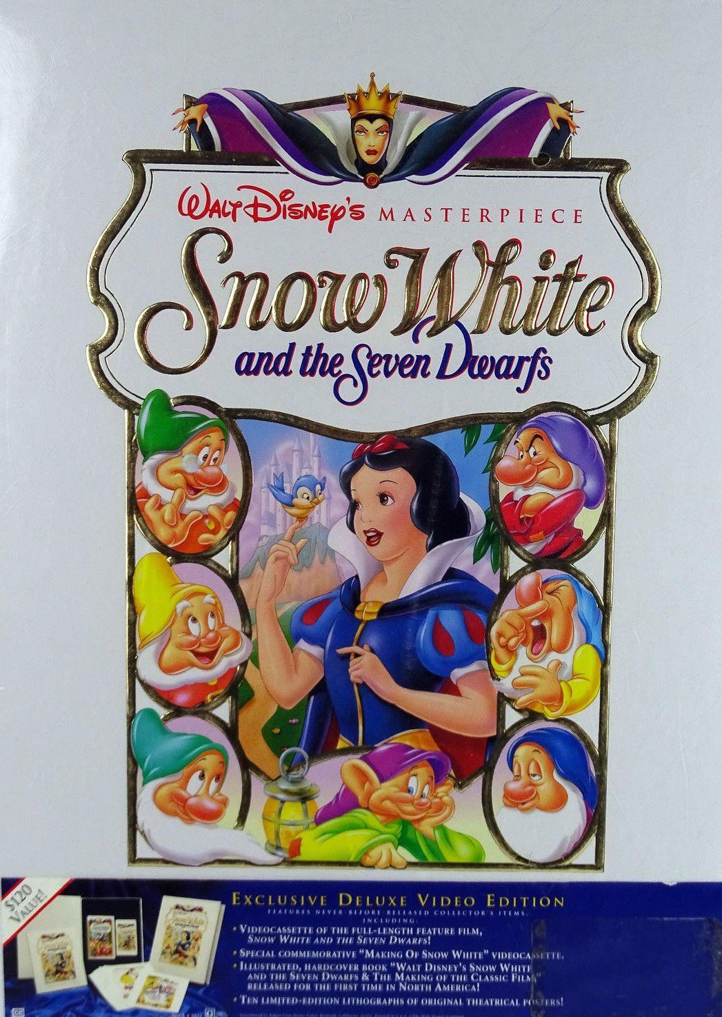 Walt Disney's Masterpiece Snow White and the Seven Dwarfs ...