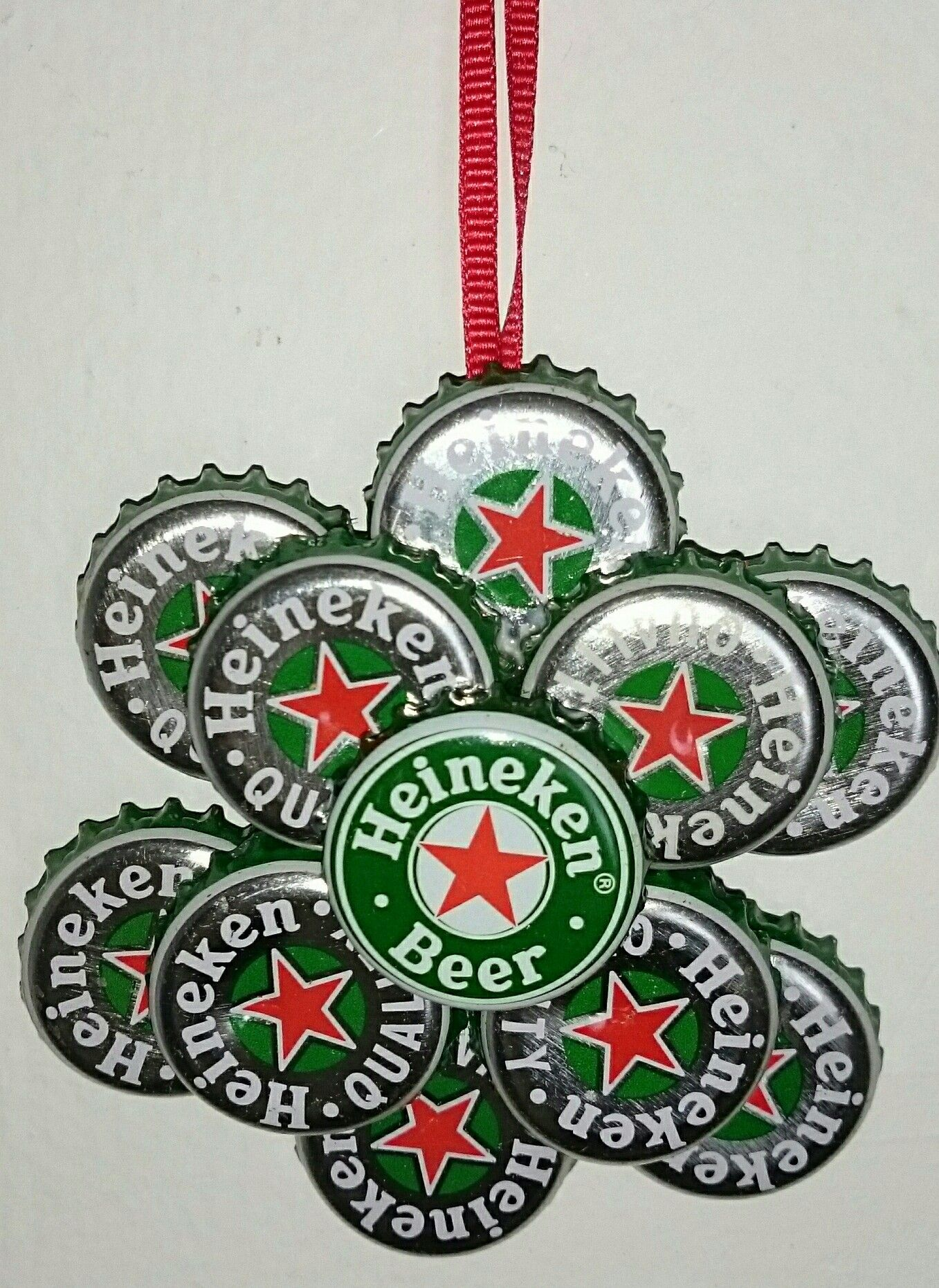 how to make a beer bottle christmas tree