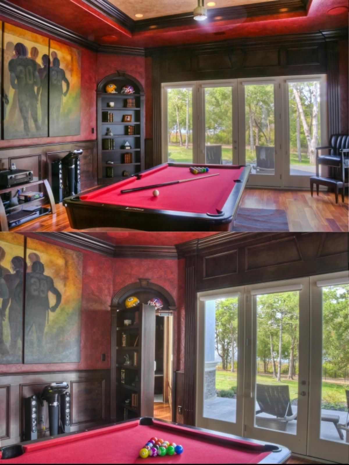 luxury bunkers and secret passages of the wealthy | game rooms