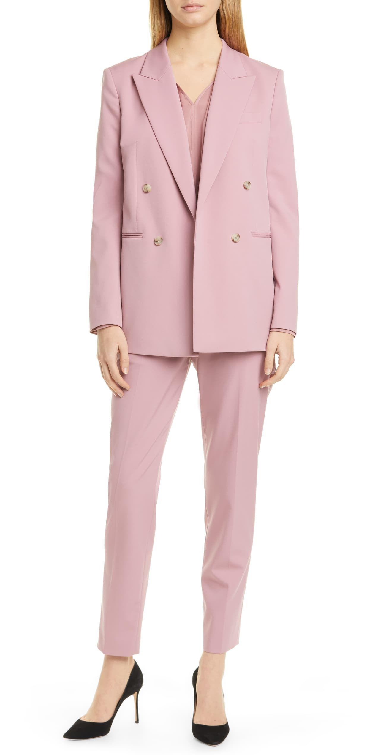Ladies Pink Pantsuit
