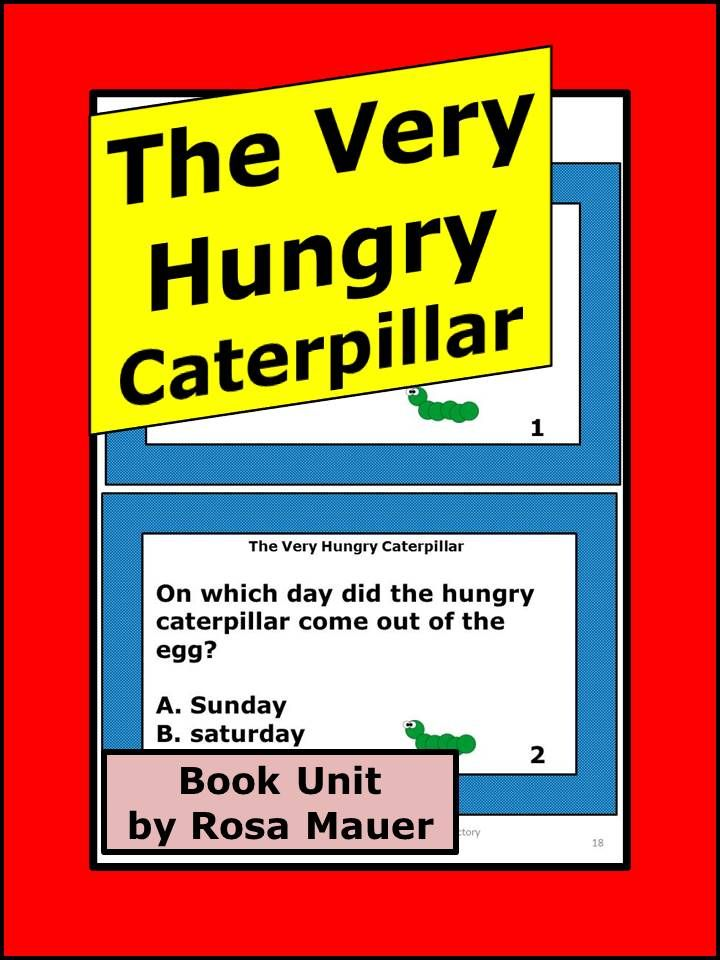The Very Hungry Caterpillar Eric Carle Reading ...