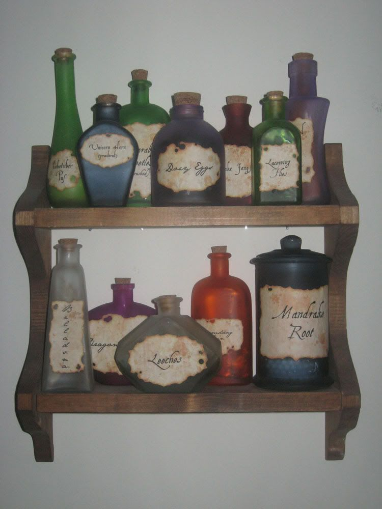 harry potter potions this would be cute for a hp themed nursery or maybe party or baby shower. Black Bedroom Furniture Sets. Home Design Ideas