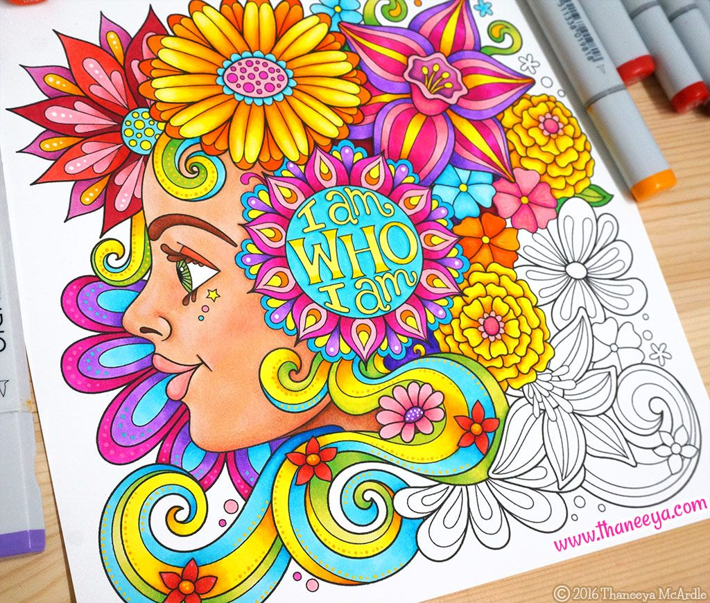 Live For Today Coloring Book By Thaneeya McArdle Amazon