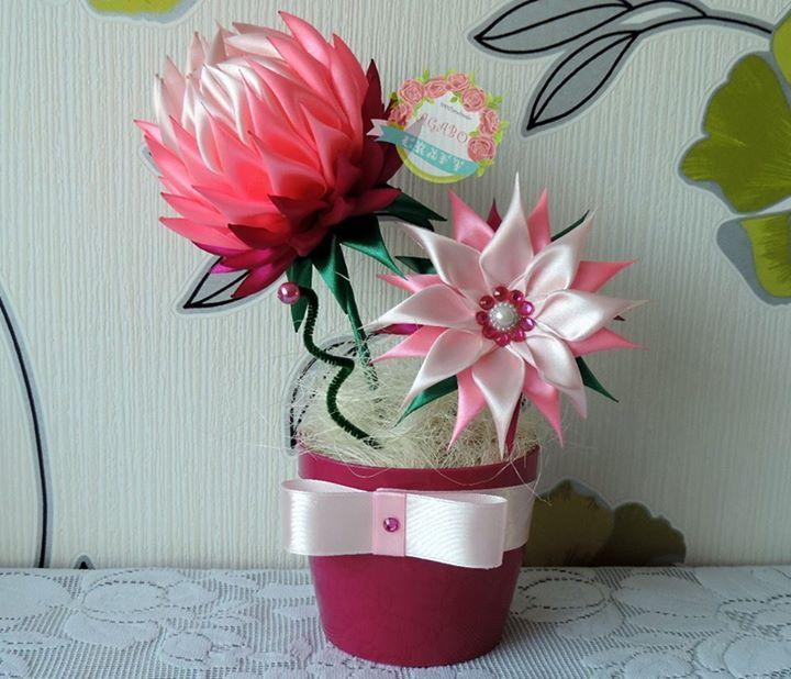 Agabo Craft Timeline Photos Flower Crafts Rose Crafts Kanzashi Flowers