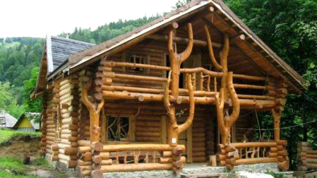 40 Cabin Wood And Log Design Ideas 2017 Amazing Wood House Within