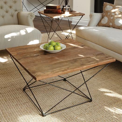 Angled Base Coffee Table Coffee Table Contemporary Coffee Table Living Room Coffee Table