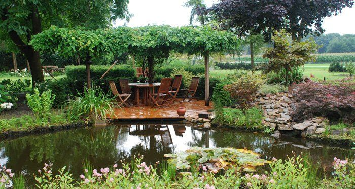 Kleine tuin ideeen hledat googlem zahrady pinterest water features and gardens - Tuin ideeen ...