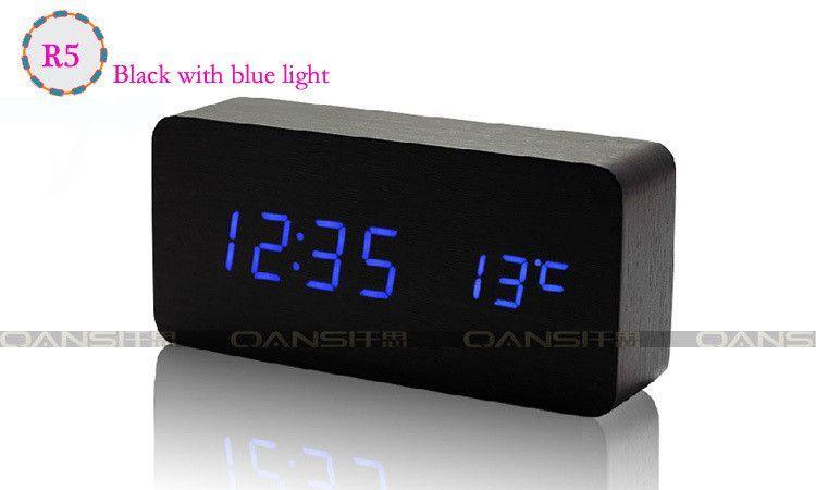 Type Desk Clocks Movement Type Jumping Movement Diameter 150 Mm Brand Name Wood Show Length 150 Mm Motivity Type D Digital Table Clock Led Clock
