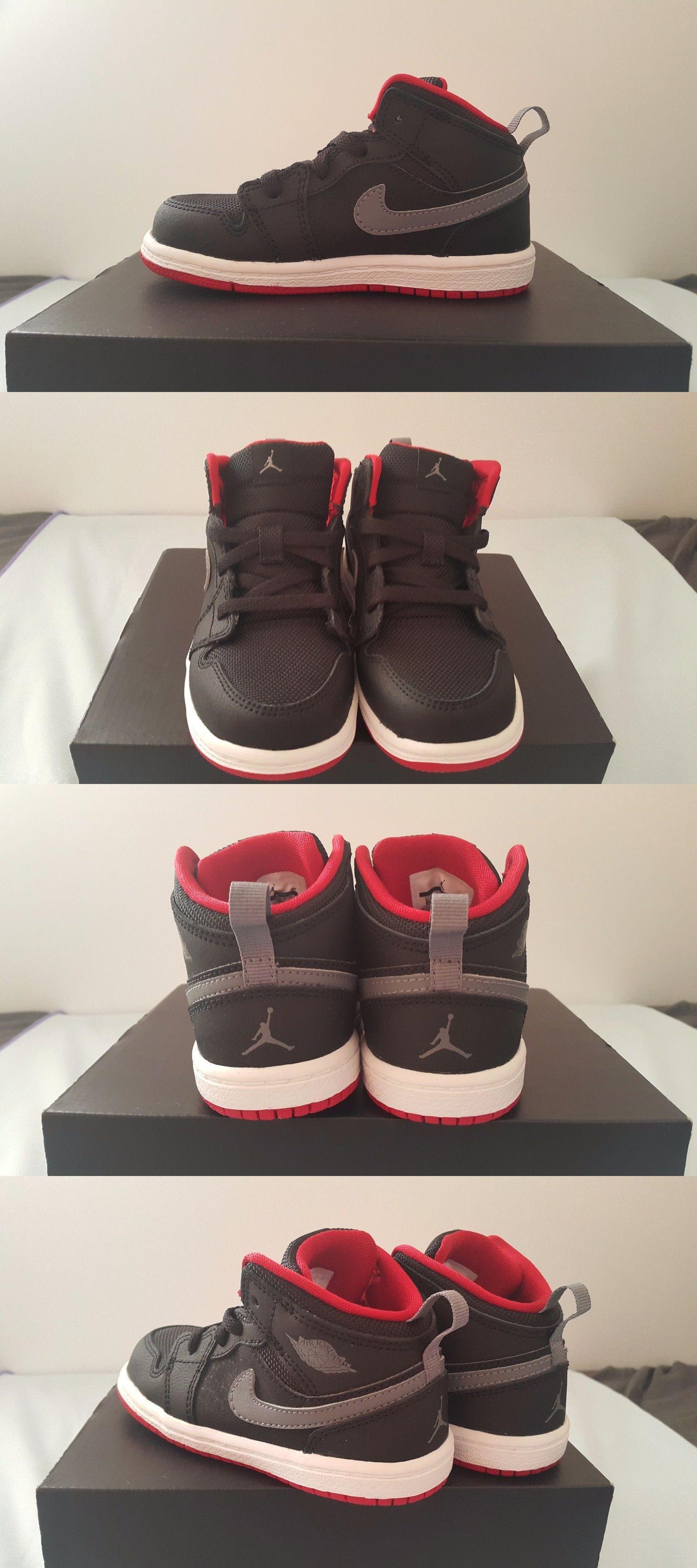 hot sale online c05a4 83b41 Baby Shoes 147285: New - Nike Air Jordan 1 Mid Bt Shoes ...