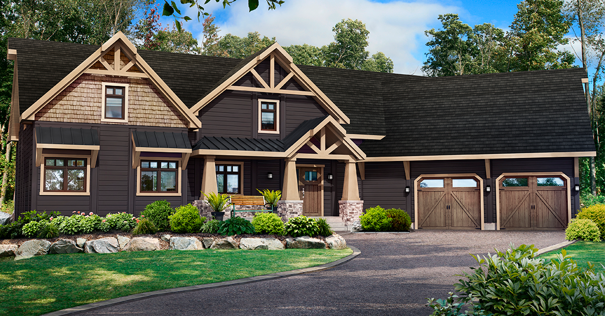 Save Up To 20 000 Over 75 Plans To Choose From Log Home Floor Plans House In The Woods Craftsman House