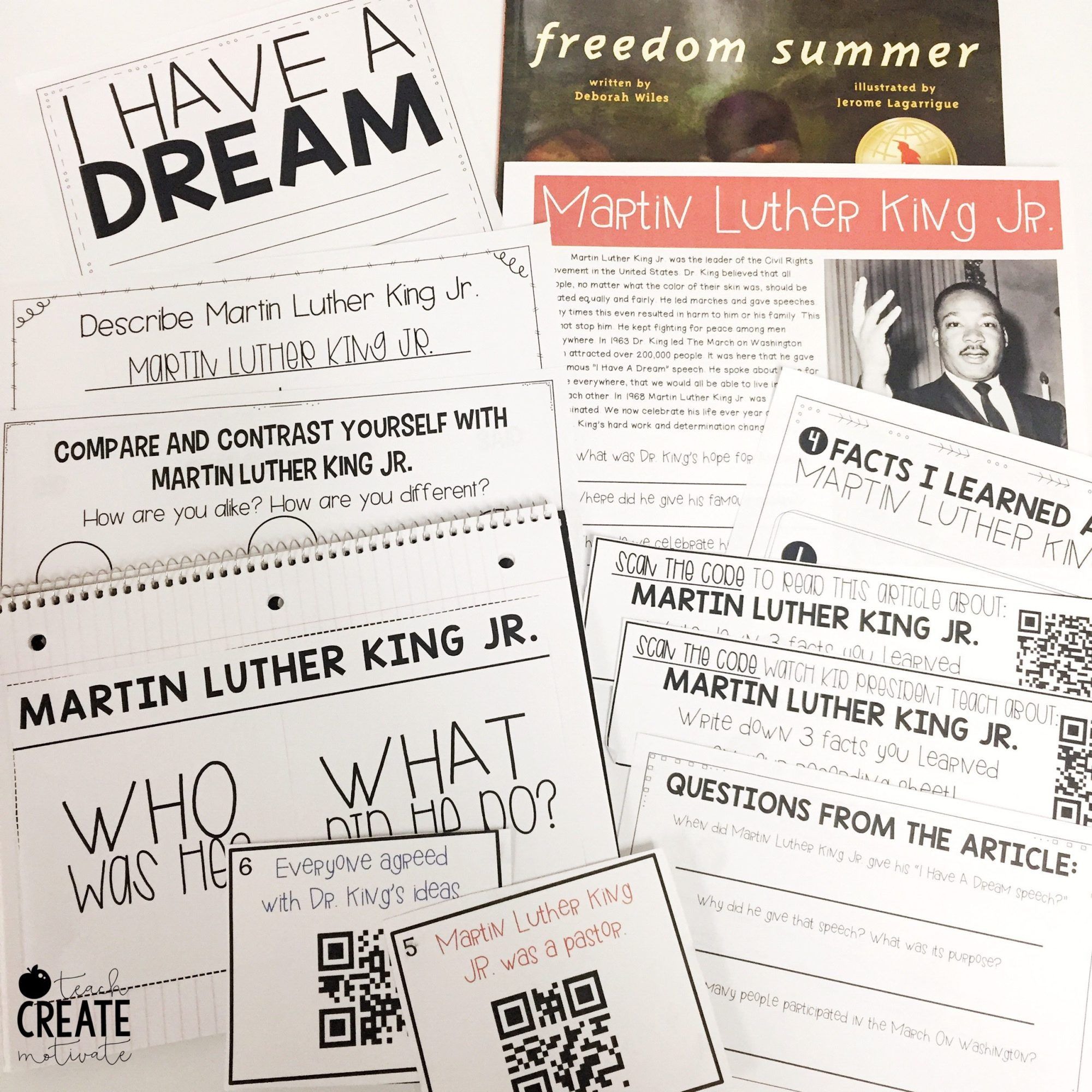 Freedom Summer Read Aloud For Mlk Jr Day