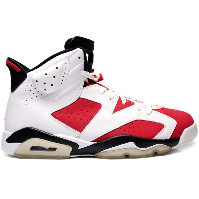 Air Jordan 6 (VI) Original (OG) Carmine White Carmine Black 322719 cheap  Jordan If you want to look Air Jordan 6 (VI) Original (OG) Carmine White  Carmine ...