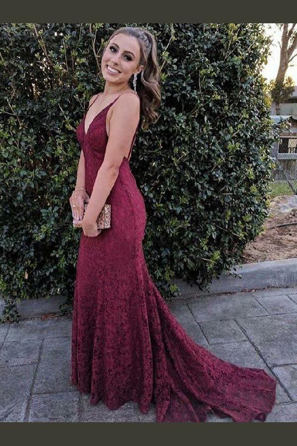 Hot Sale Fancy 2019 Prom Dresses, Prom Dresses Lace ...