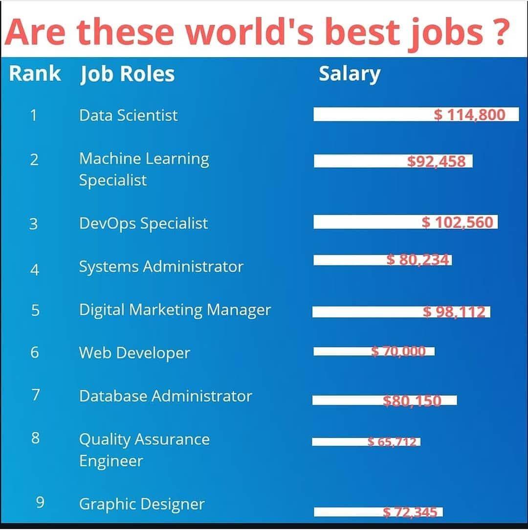 Are these world best job? Follow artilogist Digital
