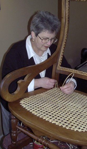 Chair Caning Instructions Caning Chair Repair Upholstery Diy