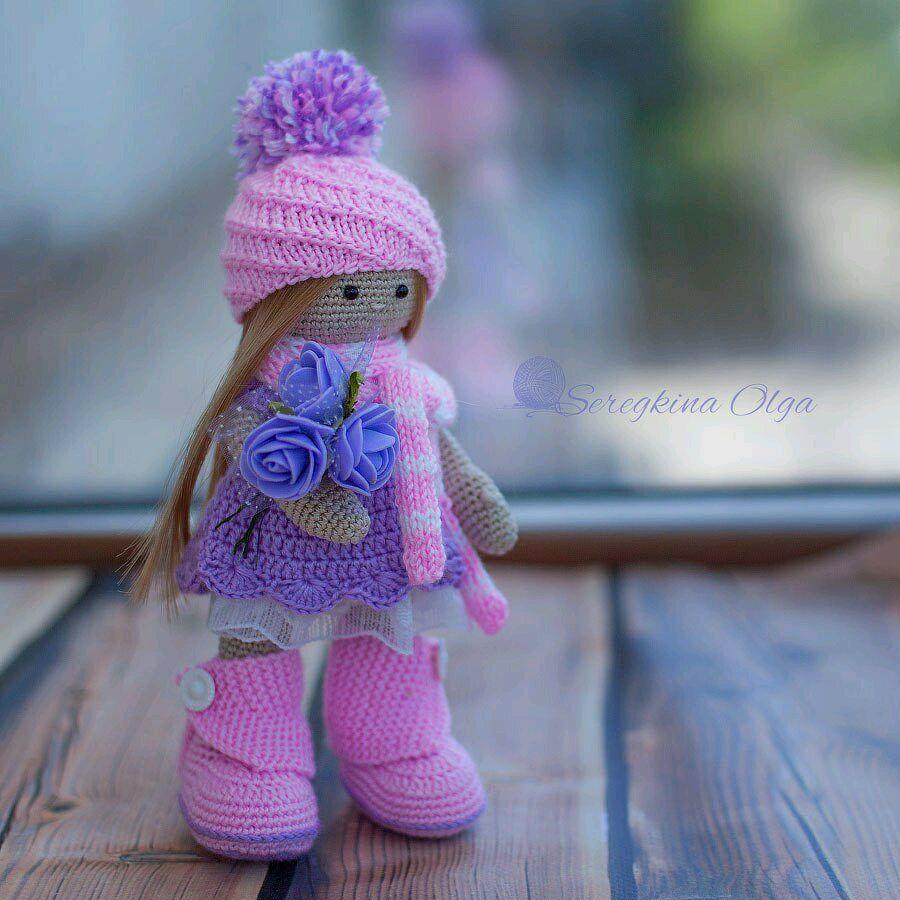 схемы вязания на русском куклы