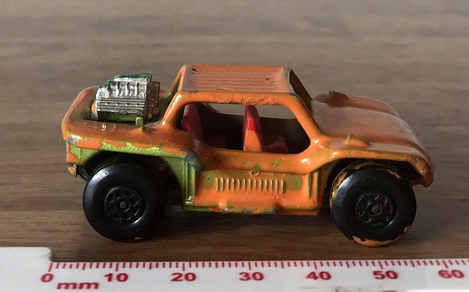 Vintage Matchbox Lesney Superfast 1971 Toy Car Baja Buggy