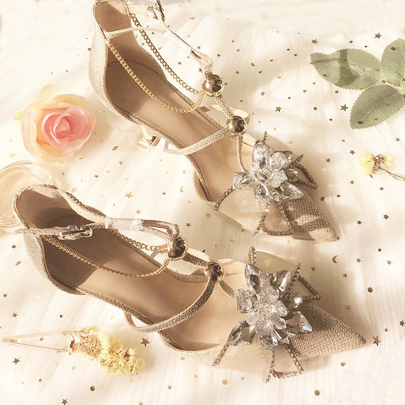 27 Stylish and Charming Nude Wedding Shoes for 2019 trend!