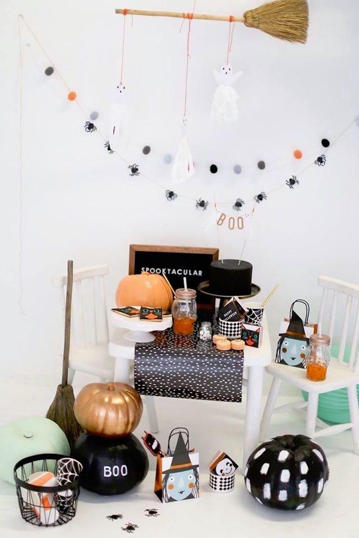 Modern Glam Halloween Party for Kids Halloween Party Ideas - kids halloween party ideas