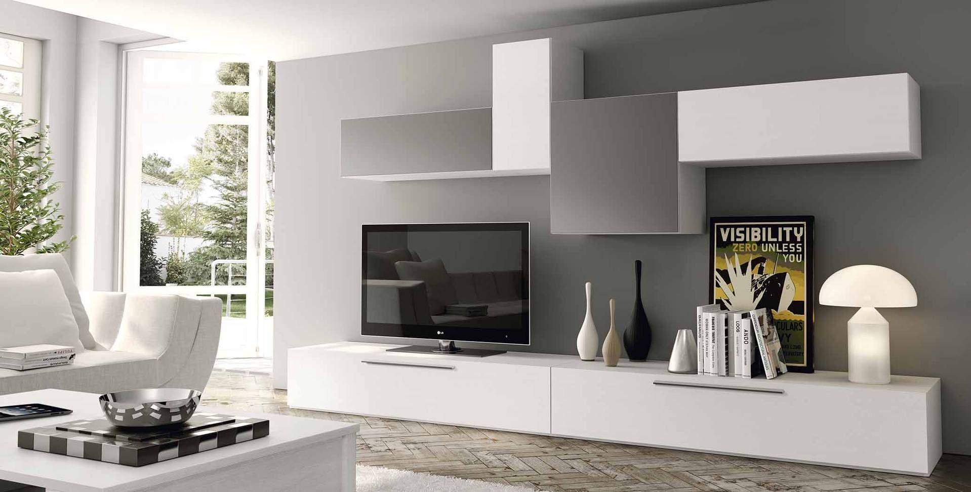 Muebles de diseño para tu televisión   Salons, Spaces and Room