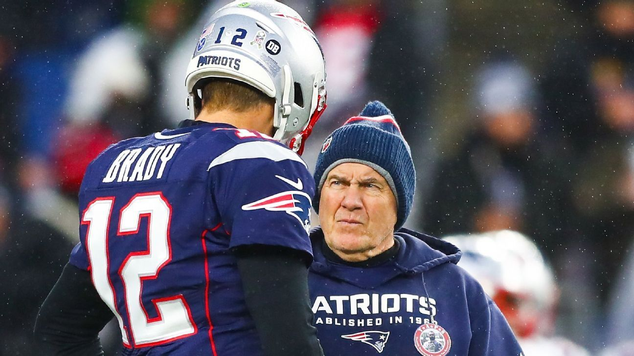 Belichick Not Time To Talk Brady S Future With Pats In 2020 Nfl Coaches New England Patriots Coach Tom Brady