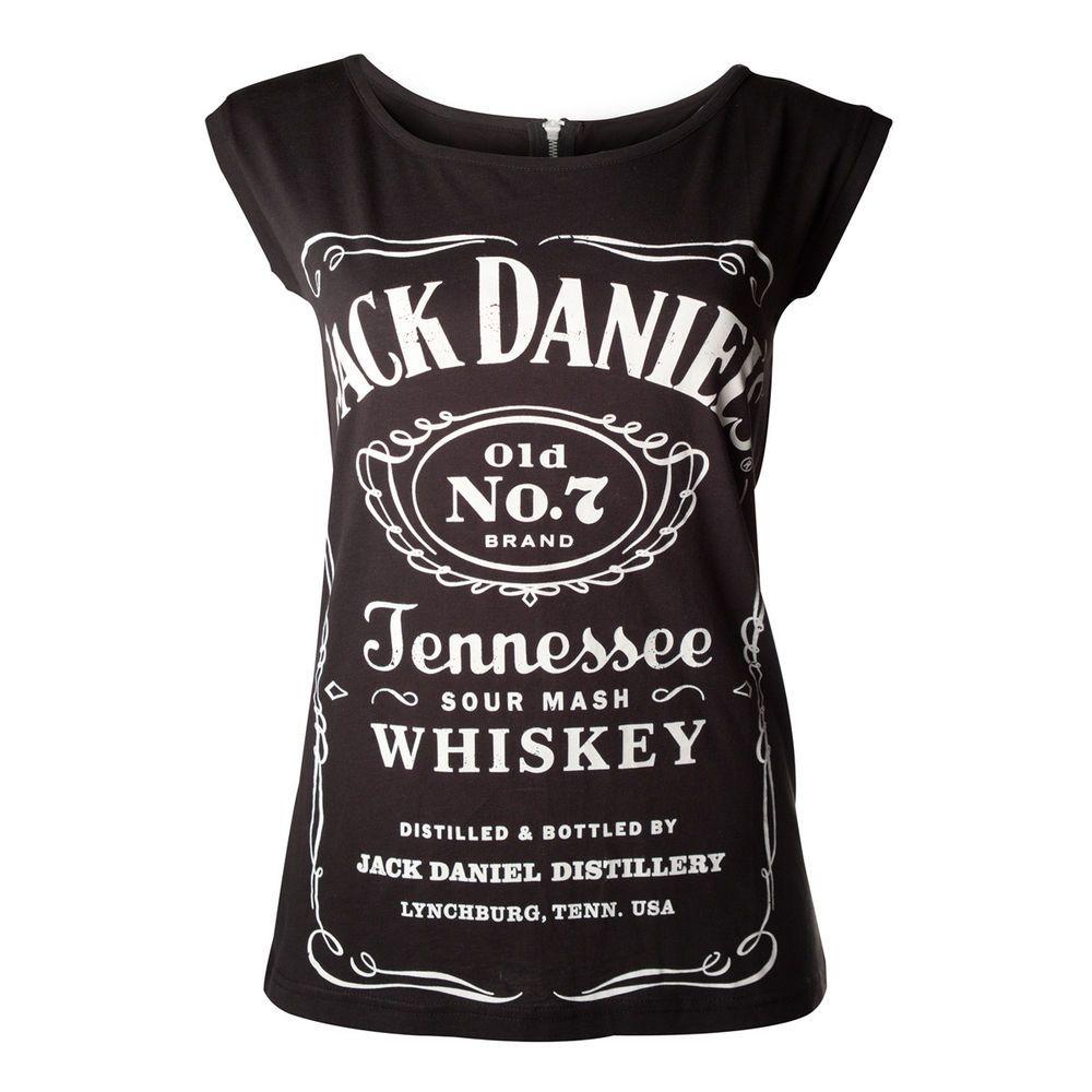 Photo of Maglietta da donna con cerniera Jack Daniels Spedizione gratuita | eBay
