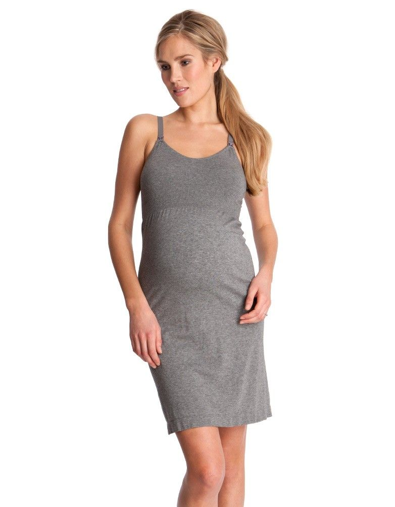 145d092c6fc47 Seamless Bamboo Maternity & Nursing Nightie | Maternity & Nursing ...