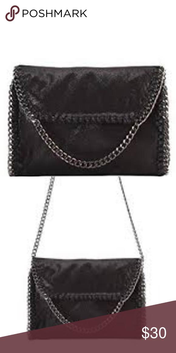 211fa374b0eb PU Leather Chain Edging Cross Body Handbag High Quality Metal Color PU  Leather Chain Edging Cross