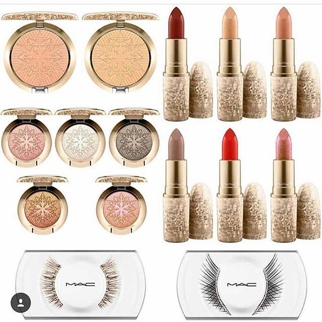 MAC Snowball Holiday Colour Collection