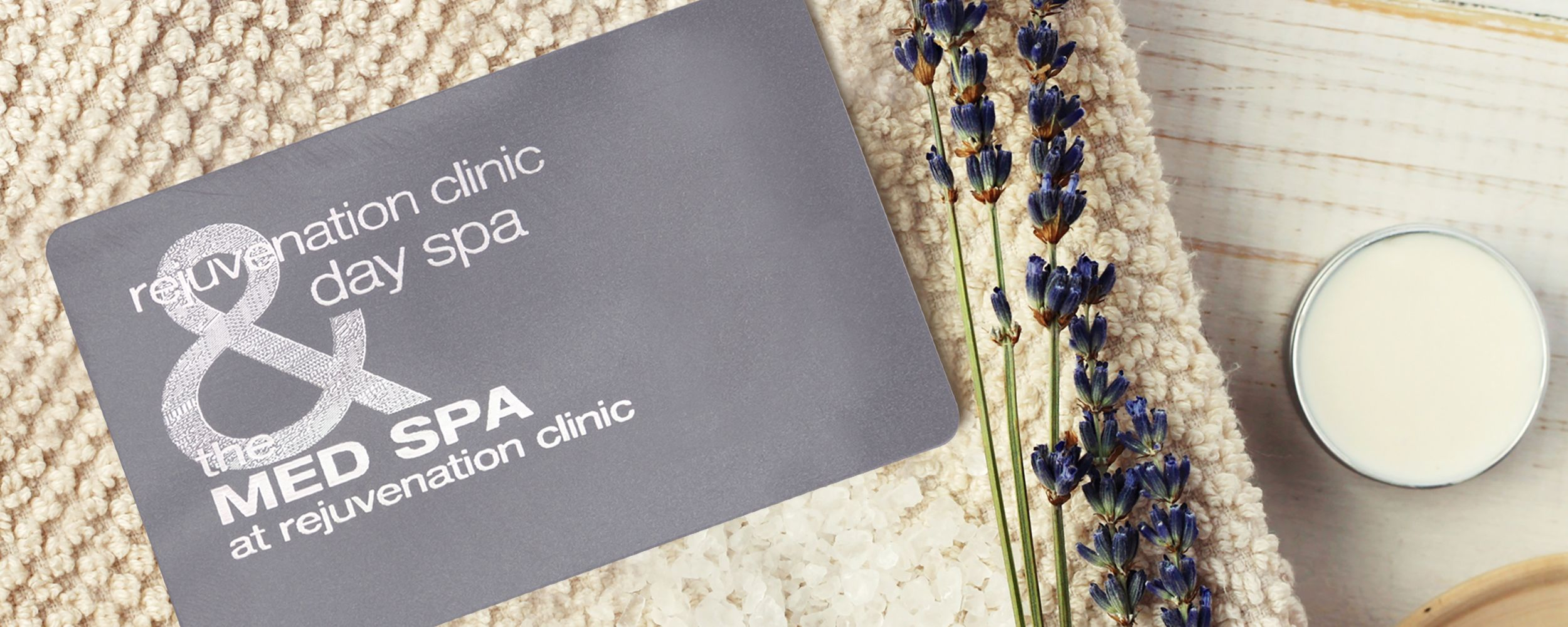 Gift cards rejuvenation clinic day spa gift card