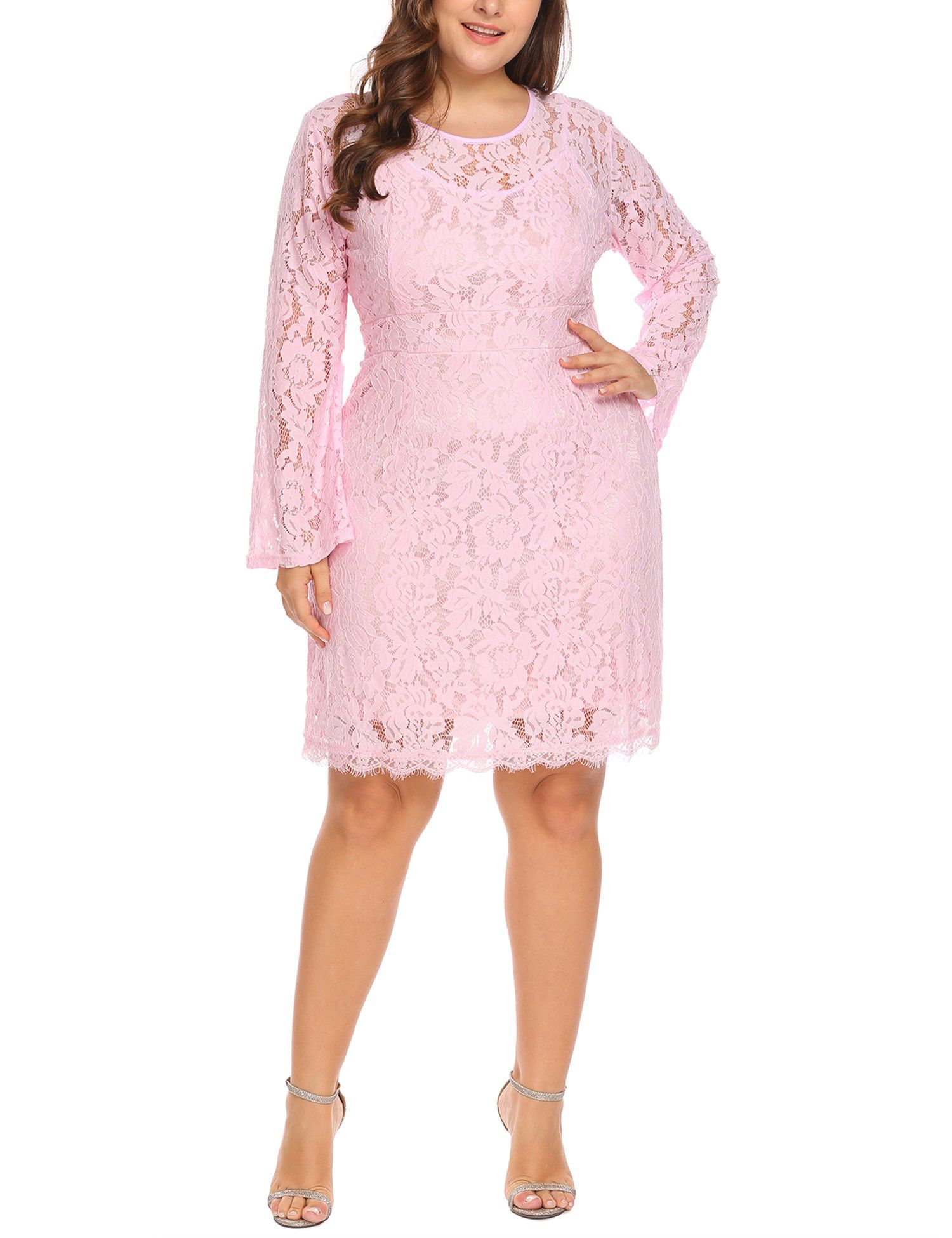 c9bb7e615dc Maternity Styles - skinny maternity dresses   Vpicuo Womens Plus Size  Elegant Flare Long Sleeve Lace Bodycon Cocktail Party Dresses     Read more  ...