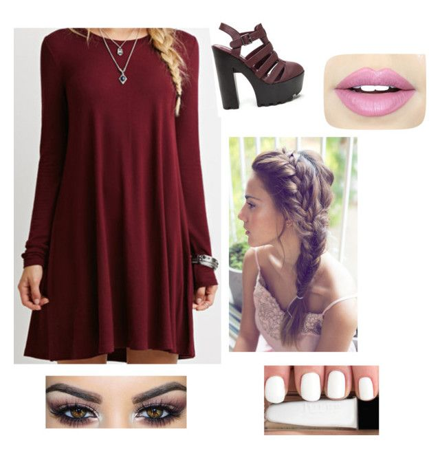 """Night out"" by flicat05 ❤ liked on Polyvore featuring Fiebiger"