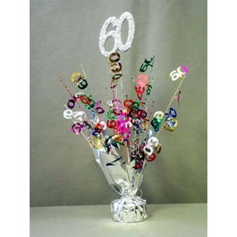 60th Birthday Decorations Accessories Party Supplies