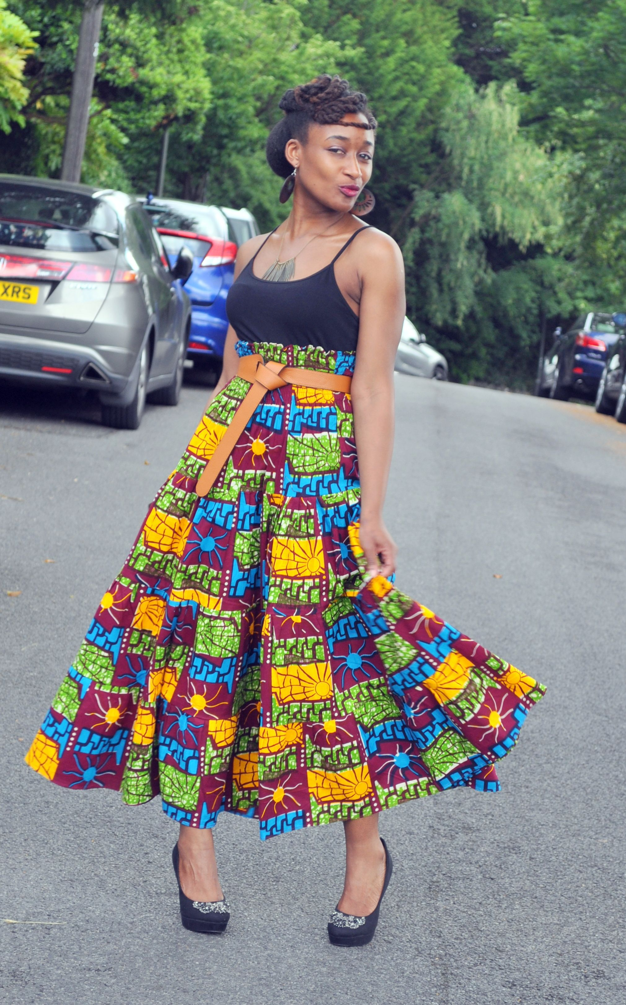 African print dresses for weddings  DSC  African Dress  Pinterest  African dress Bohemian