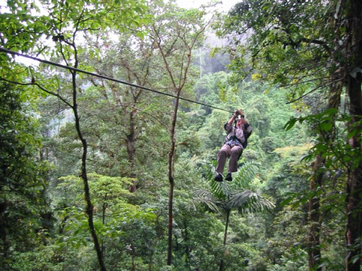 Canopy Tour near Arenal Volcano · VolcanoesCanopyCosta RicaTravel ... & Canopy Tour near Arenal Volcano | Why I Love Costa Rica ...