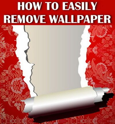 how to remove wallpaper easily 5 best tips remove wallpaper stripped wallpaper diy. Black Bedroom Furniture Sets. Home Design Ideas