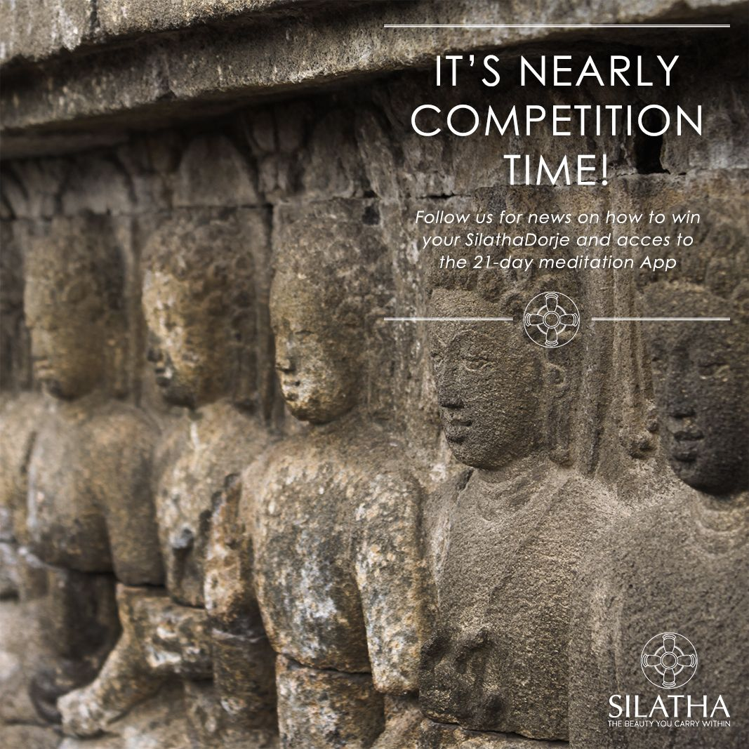 It will shortly be competition time! Follow us on Twitter to be kept up to date with the latest news on how to win a Silatha Dorje and access to the 21-day App!