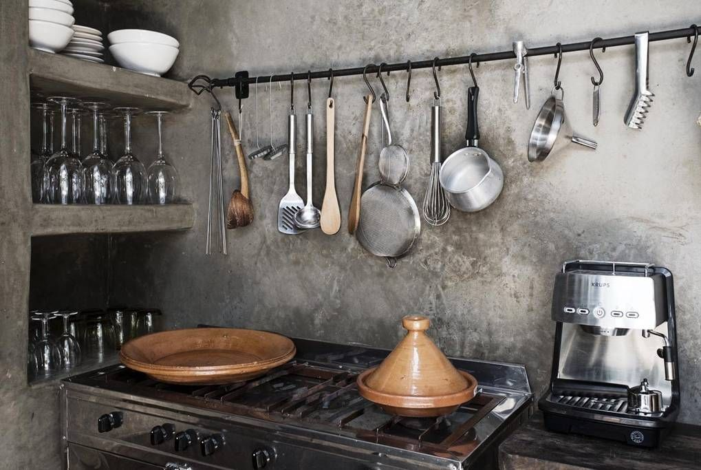 Bonito Diseño De La Cocina En Riad Imagen - Ideas de Decoración de ...