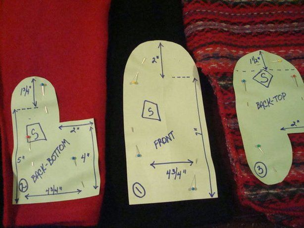 Fleece-Lined Upcycled Woolicious Mittens   Mittens, Patterns and ...