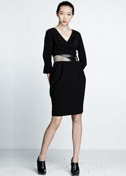 Sleek Tech Cloth Judith Dress