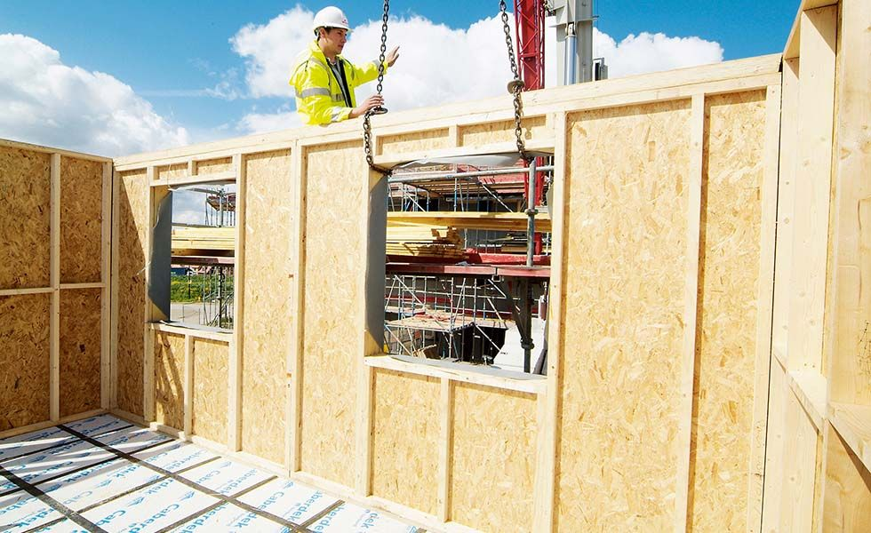 Home Builders Confidence Declines As Construction Costs Increase Timber Frame Building Timber Frame Construction Timber Frame