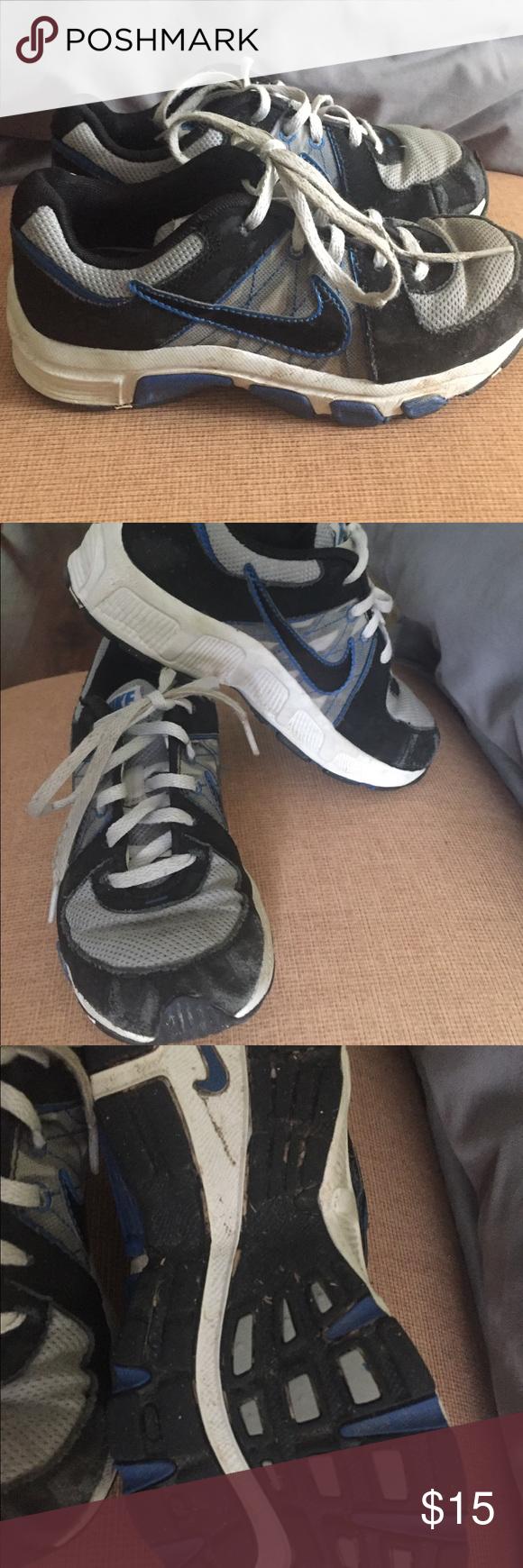 boys size 1 tennis shoes