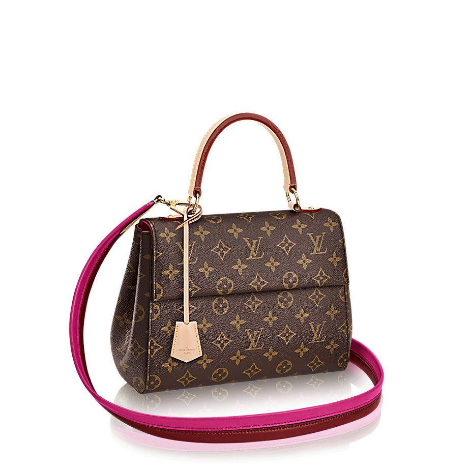 Cluny Bb Monogram Canvas Damen Handtaschen Louis Vuitton Damenhandtaschen Louis Vuitton Handtaschen Taschen